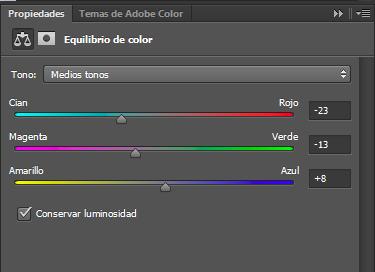 equilibrio color