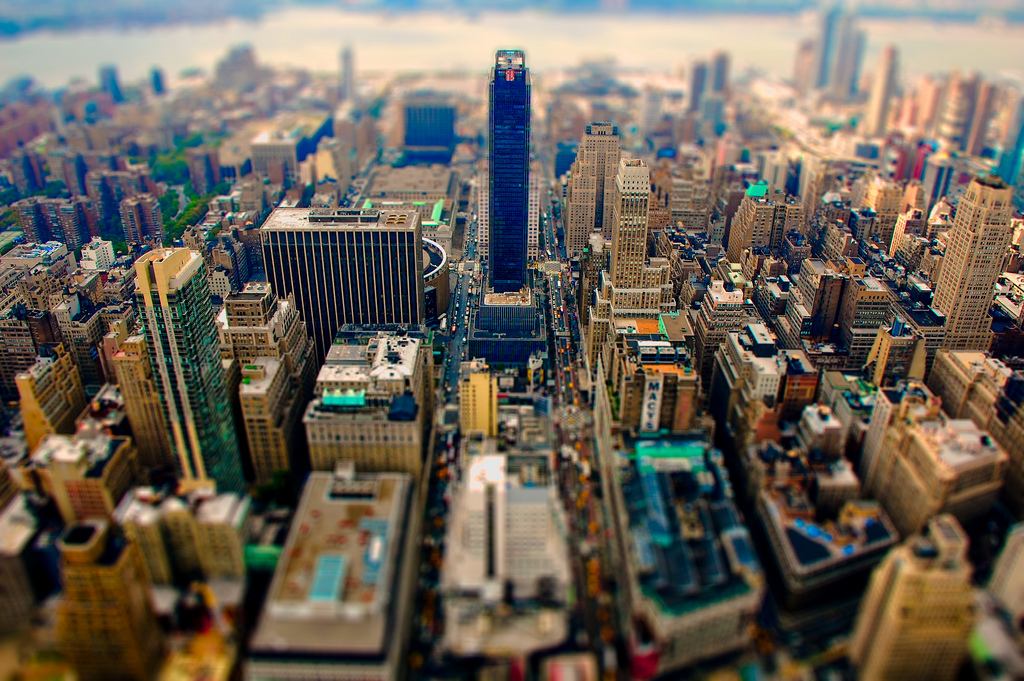 NYC Tilt Shift